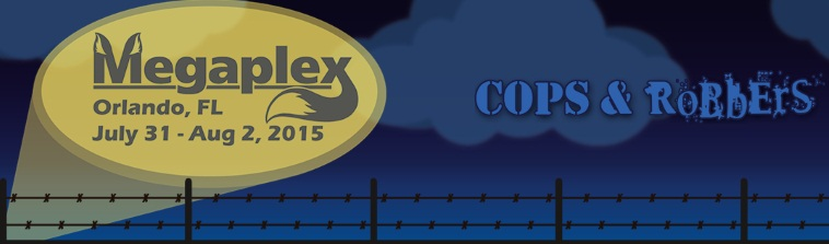 Megaplex XIV, Florida's Furry Convention - Cops & RoBbErS